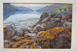 """Shore near Coilessan Loch Long"""