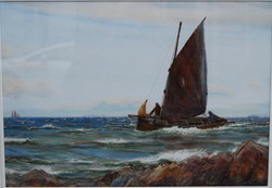 """A Stiff Breeze at Ballantrae"""
