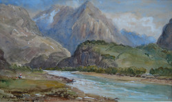 """Norwegian River Scene"""