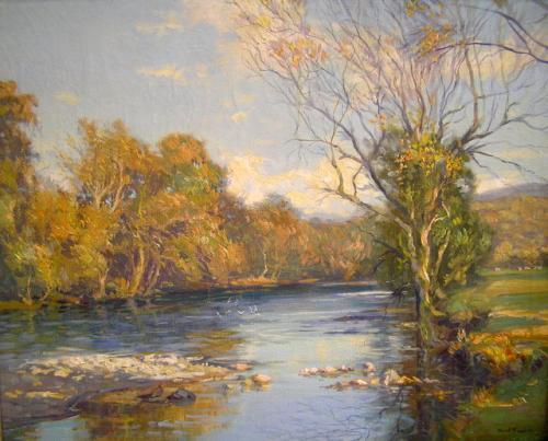"""""""A River Landscape"""""""