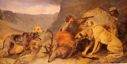 """""""The Hunt"""" by Richard Ansdell"""