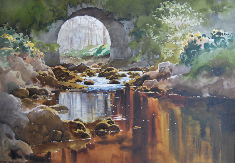 """""""Below the Bridge Dunfanaghy Ulster"""""""