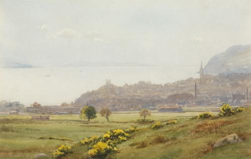 """Dunoon from the Golf Course"""