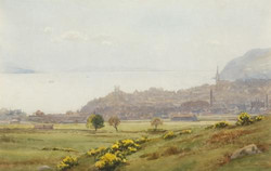 """""""Dunoon from the Golf Course"""""""