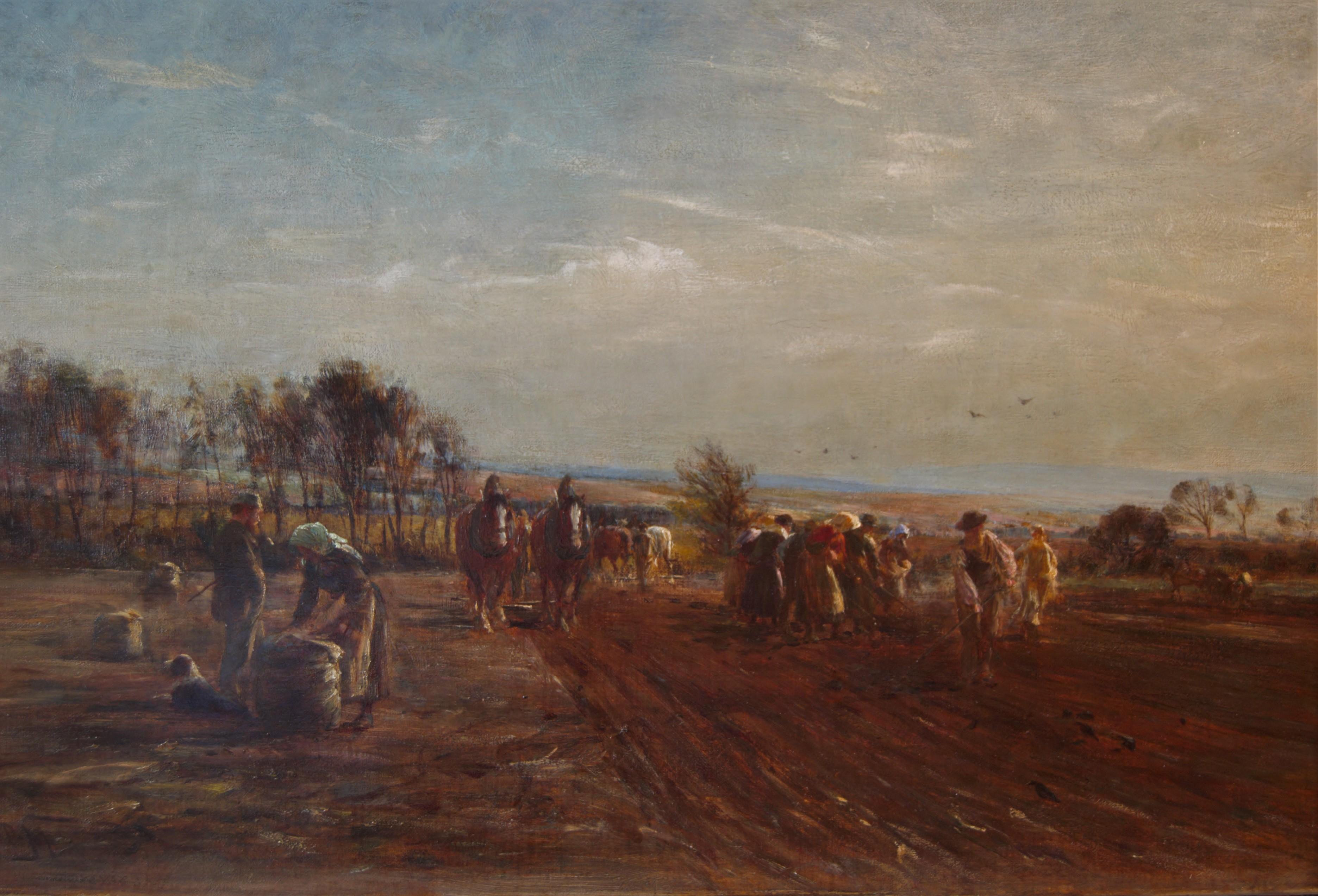 Field Workers near Haddington