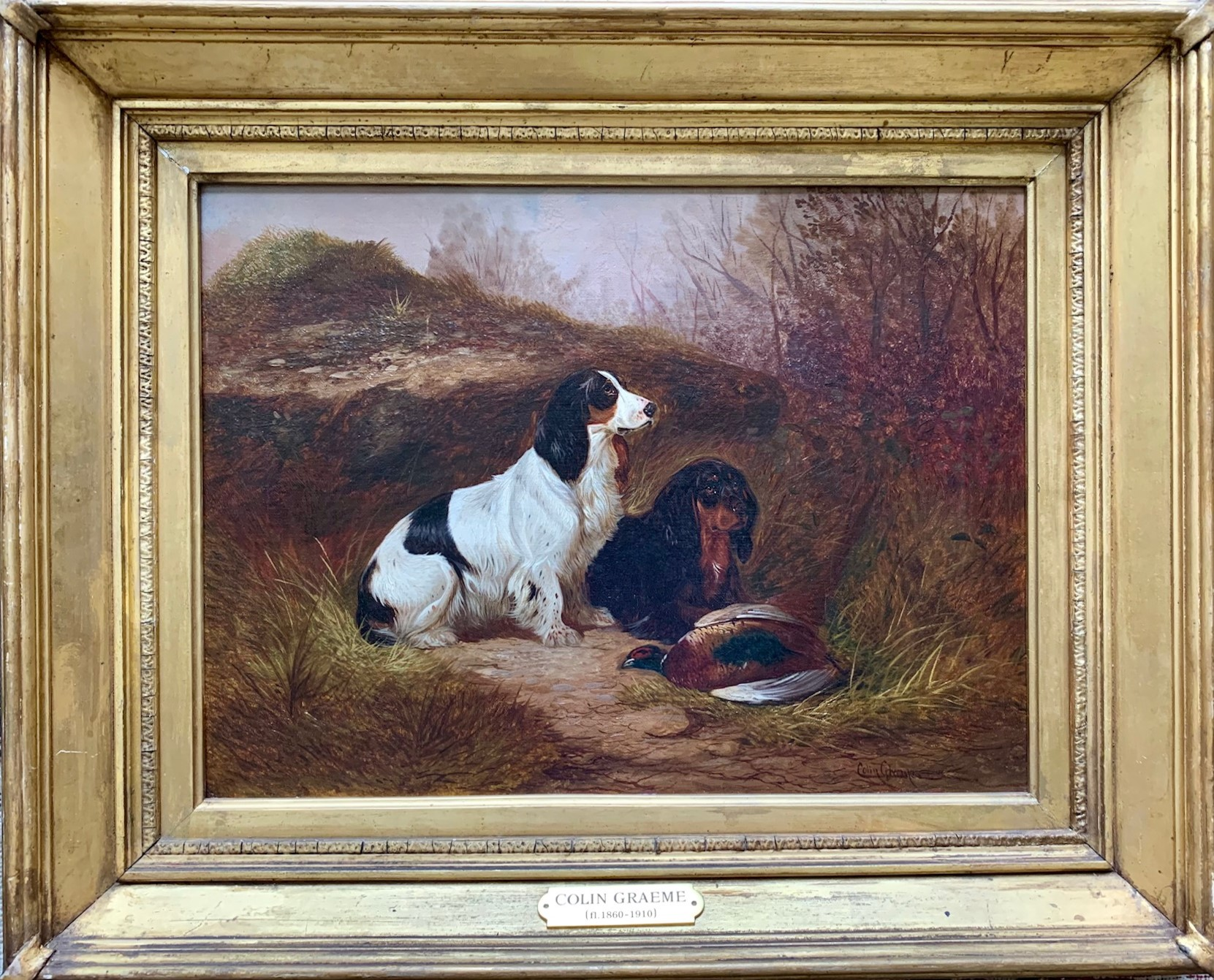 A Pair of Sporting Dogs