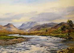 """Gruinard River, Wester Ross"""