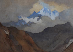 """""""View of Mont Blanc"""""""