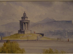 """Burns Monument"" by John Blair"
