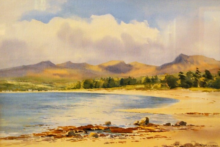 """Brodich Bay, Isle of Arran"""