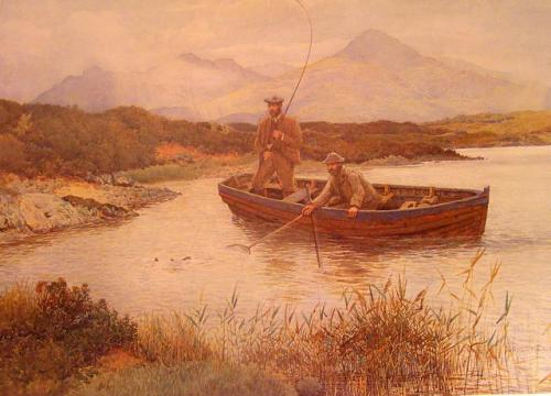 """Loch Lundy"" by Ernest Briggs"