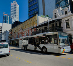 Perth CAT Bus with Passenger Information System
