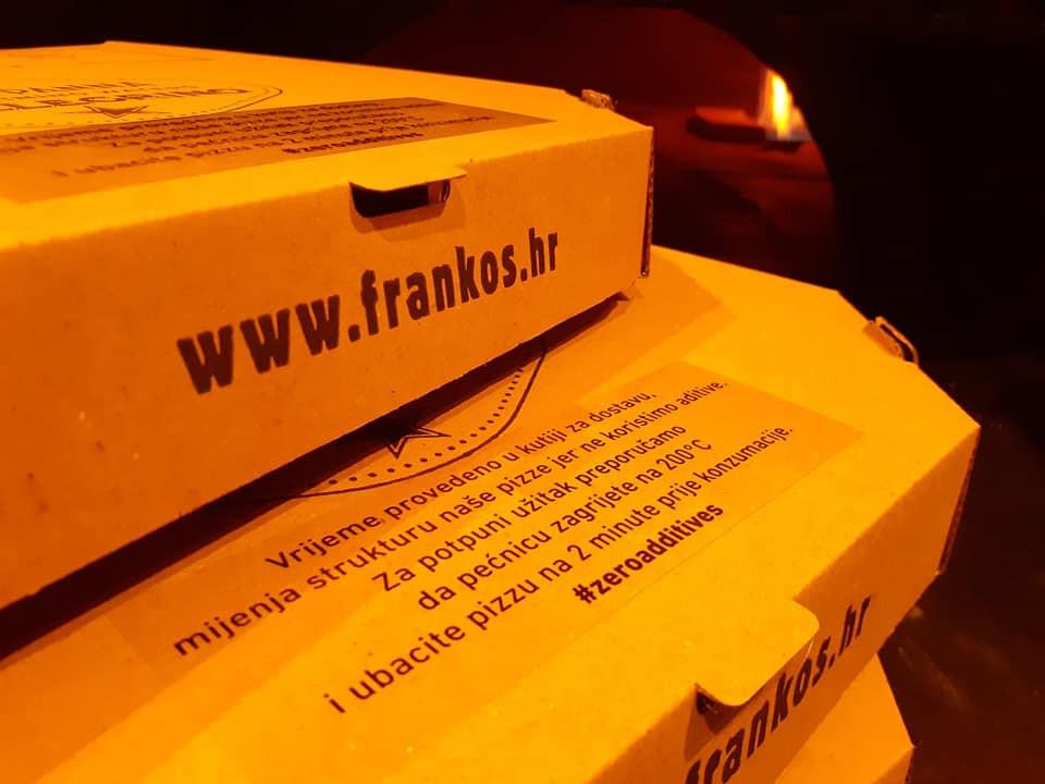 Frankos pizza box