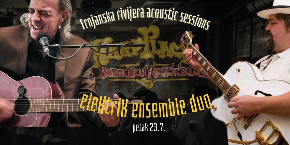 Trnjanska rivijera acoustic sessions | eleKtriK ensemble duet