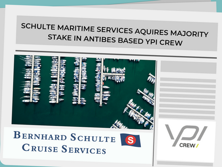 The Schulte Group announces the acquisition of a majority stake in YPI Crew