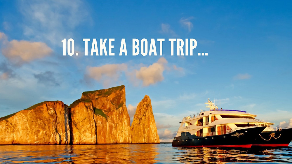 Boat Charter in Galapagos