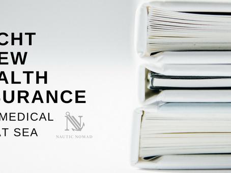 Yacht Crew Health Insurance