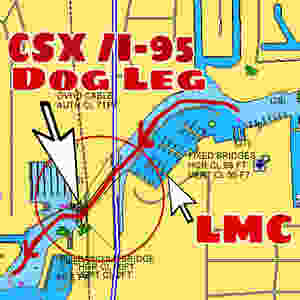 Navigating the New River Fort Lauderdale CSX