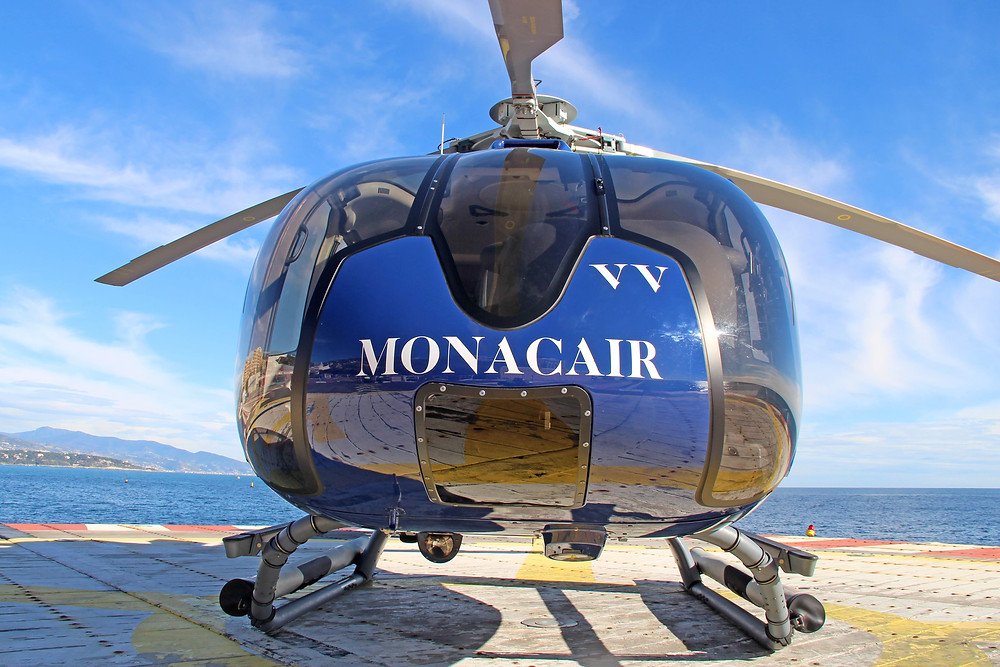 Monacair Monaco Yacht Show Helicopter Transfer Book