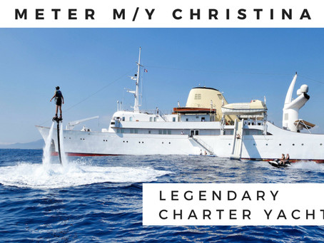 Yacht CHRISTINA O | Legendary Vessel Available for Charter in 2019