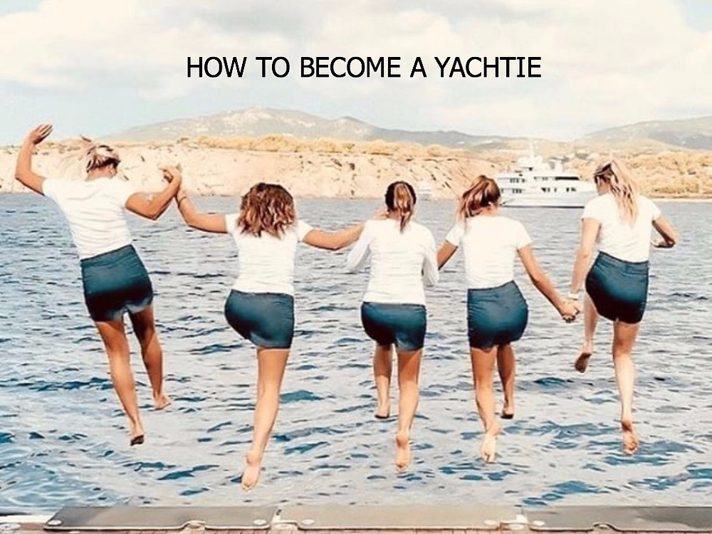 How to become Yacht Crew