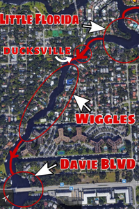 Ducksville calls for the new river in fort lauderdale