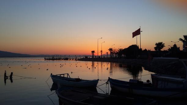 Sunset in Izmir