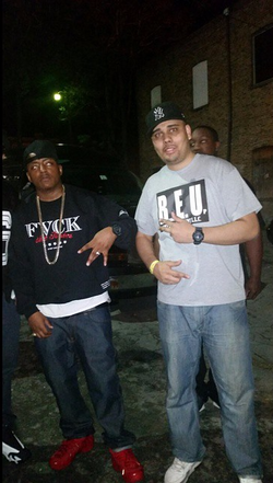 Instagram - ME AND THE HOMIE CASSIDY CHOPPIN IT UP AFTER THE SHOW WE BOTH LIKE R