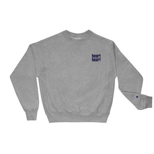 hear!hear! Stacked Crewneck Sweatshirt