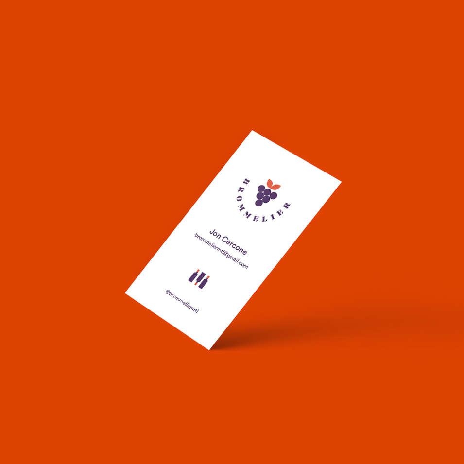 Brommelier Business Card