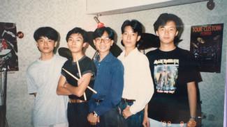 #回憶1988年, 第一次夾Band@太子格林琴行