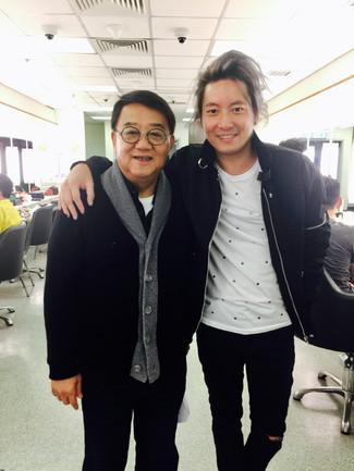 重返TVB後台很高興! 終於可以同黎小田音樂總監合照!