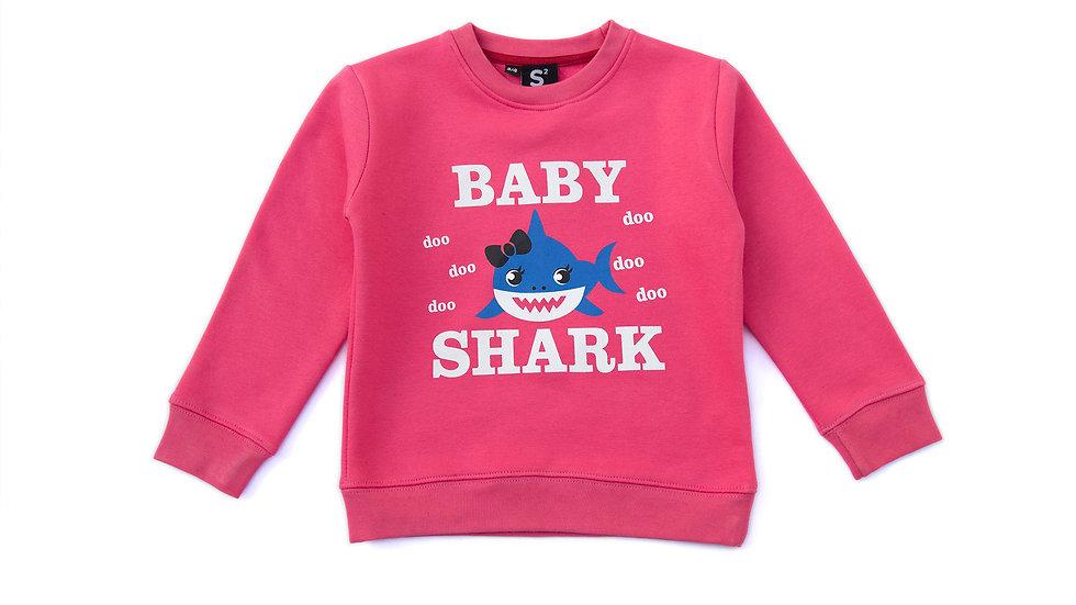 Baby Shark fleece Sweatshirt
