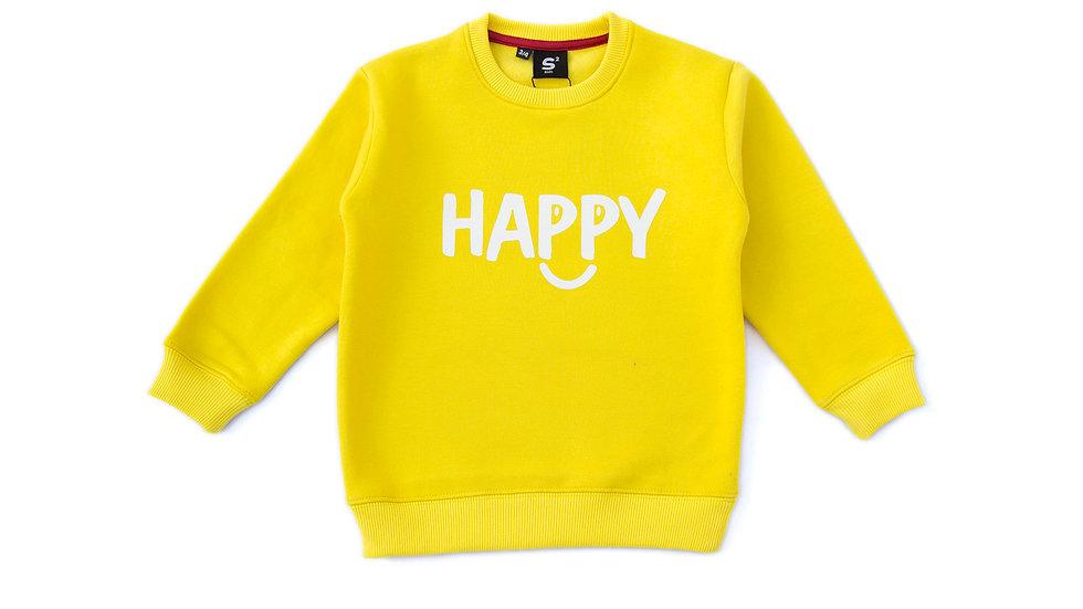 Happy fleece Sweatshirt