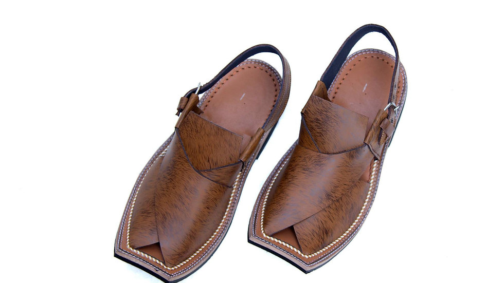 Tiger Brown Peshawri  Chappal