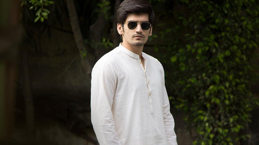 Shalwar Kameez Off White for Men
