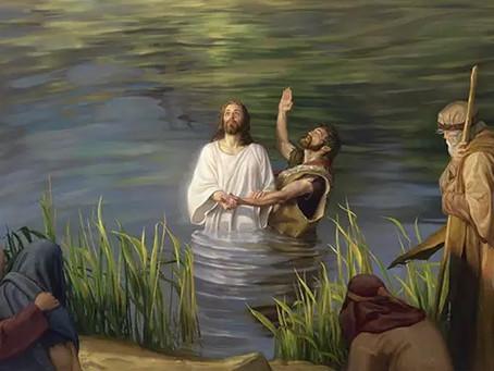 Batismo do Senhor  - Curiosidade