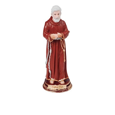 Imagem de resina São Padre Pio