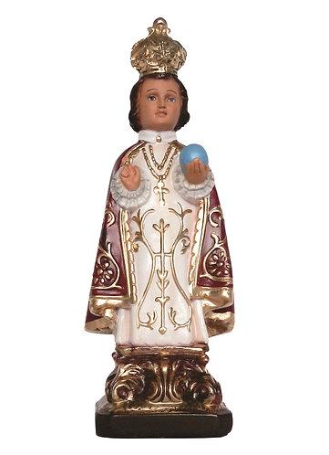 Imagem de gesso Menino Jesus de Praga