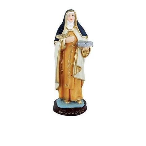Imagem de resina Santa Tereza D'ávila