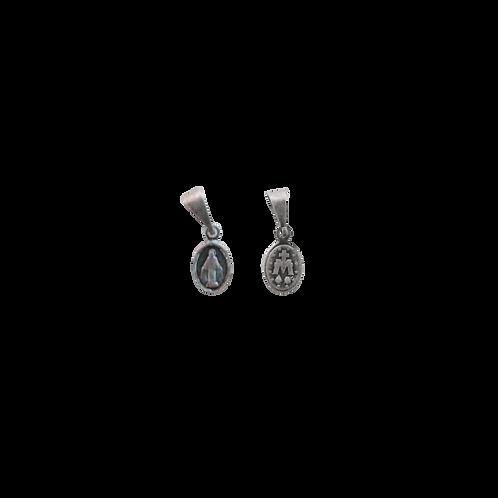 Medalha N. Sra. das Graças oval pequena P.V. (estrela)