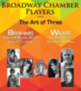 Broadway Chamber Players, The Art of Three