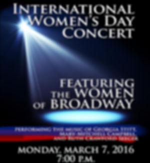 Broadway Chamber Players Women's Day Concert