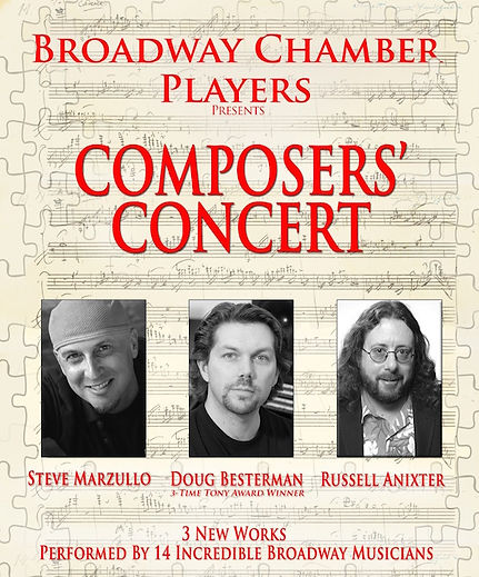 Broadway Chamber Players Composers' Concert