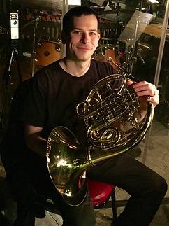 Lawrence DiBello, French horn