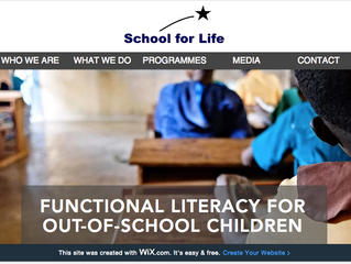 SCHOOL FOR LIFE LAUNCHES NEW WEBSITE