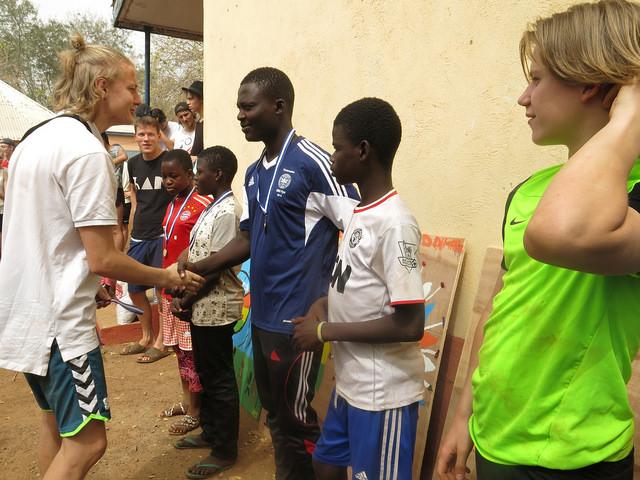 Fodboldturnering med ungdomsklubber