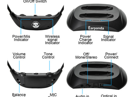 Introduction of Earpanda Wireless TV Headphones for Seniors and Hard of Hearing