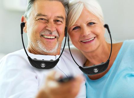 Earpanda Wireless TV Hearing Headphones for Hearing Impaired Seniors