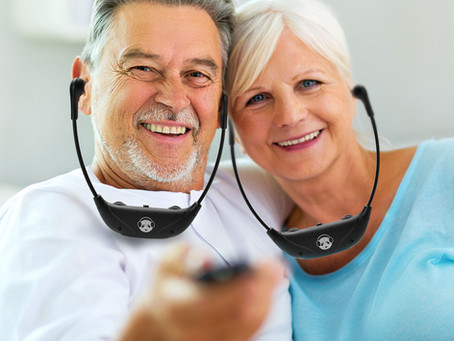 Earpanda Wireless TV Hearing Headphones for Hearing Impaired Seniors